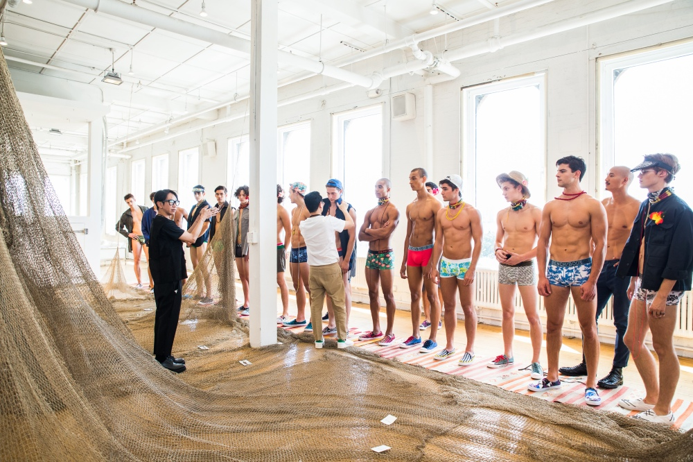 Bench Body SS17 Underwear Presentation: featuring a CADET Capsule Collection